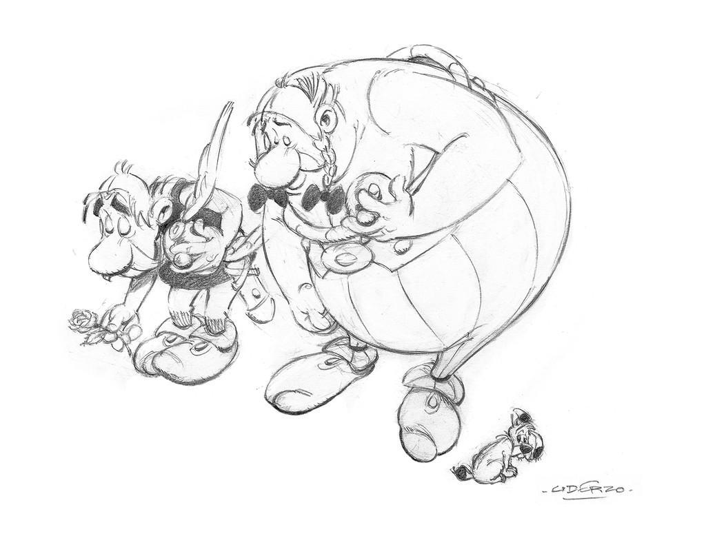 Uderzo, Asterix
