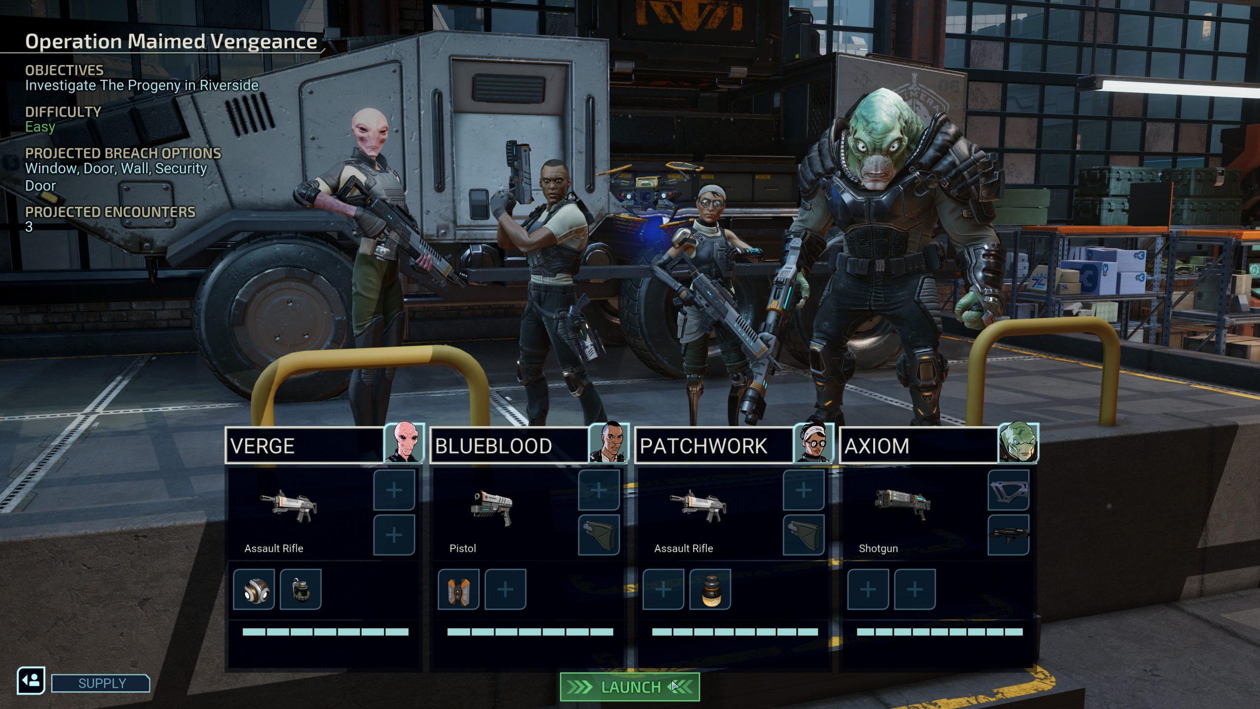 XCOM Chimera Squad - Squad Shot