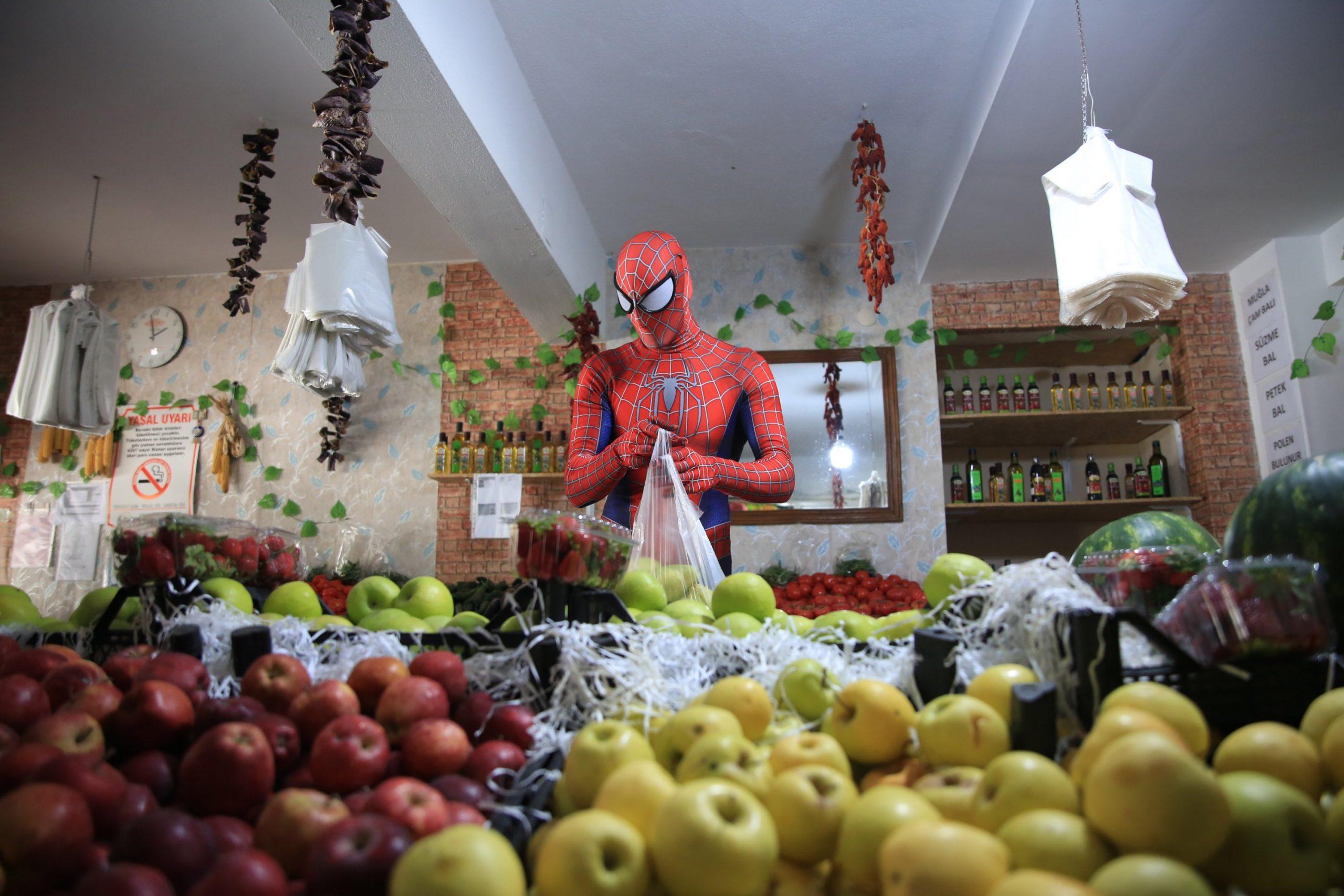 török pókember
