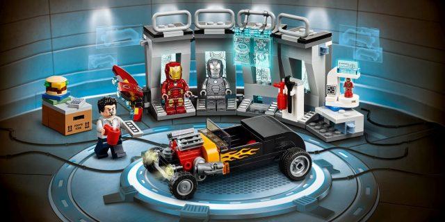 lego 76167 Iron Man Armoury