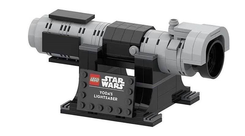 LEGO Star Wars 6346098 Yoda's Lightsaber