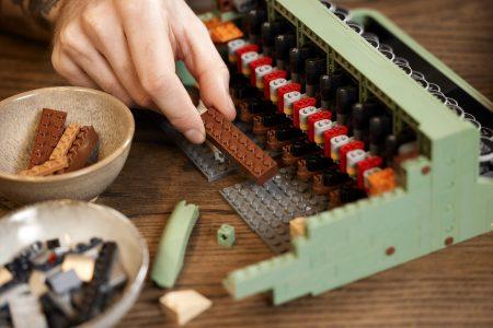 LEGO 21327 írógép typewriter -1